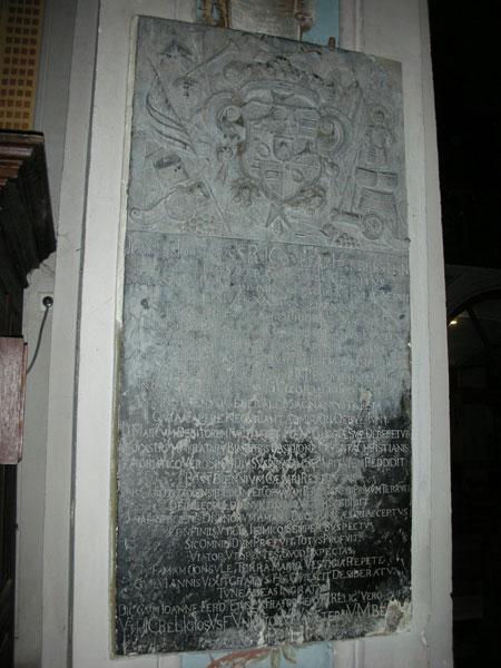 Herberstein Grabplatte