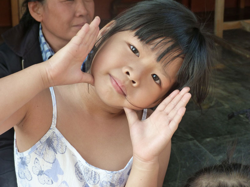 Thai-Mädchen